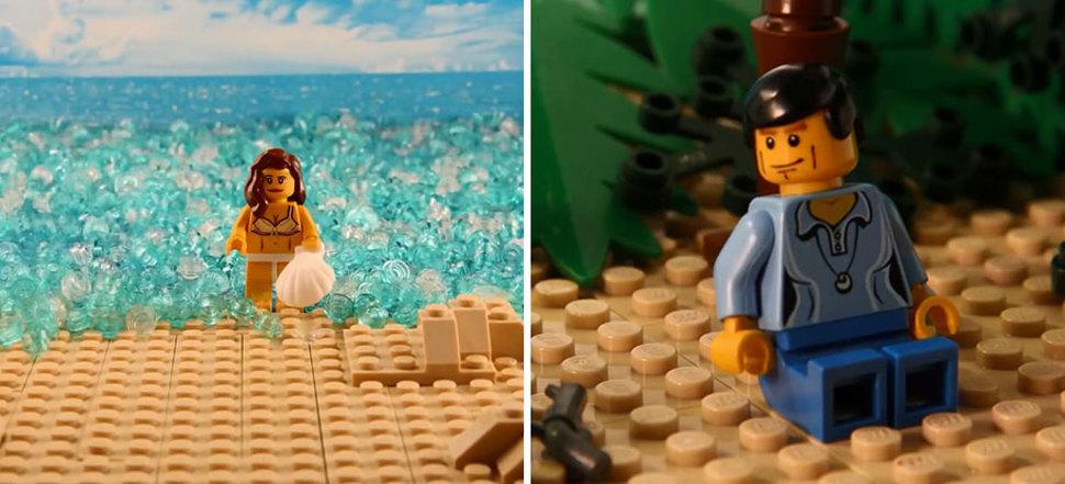 LEGOブロックでの007ドクターノオ