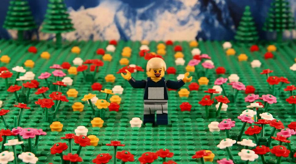 LEGOブロックでのサウンドオブミュージック