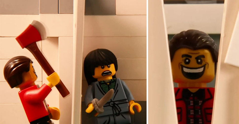 LEGOブロックでのシャイニング