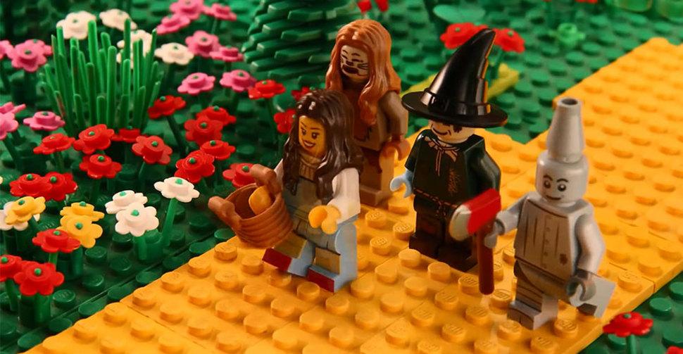 LEGOブロックでのオズの魔法使い