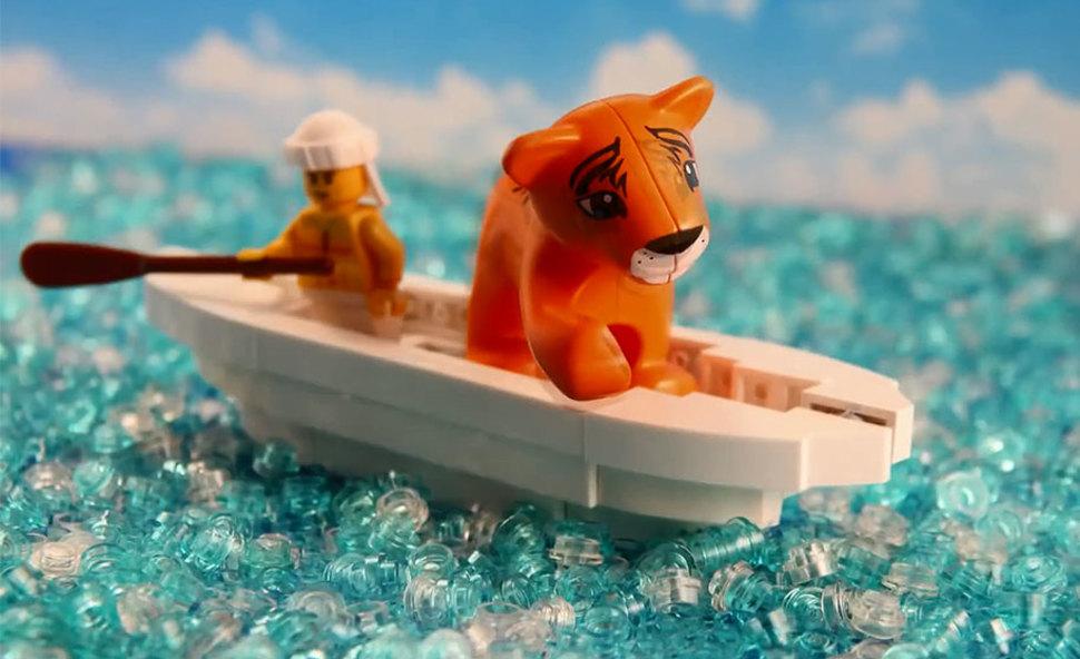 LEGOブロックでのライフオブパイ