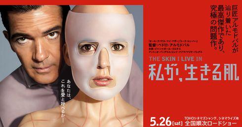 映画「私が、生きる肌」が見放題の動画配信サービスとキャストやあらすじと感想