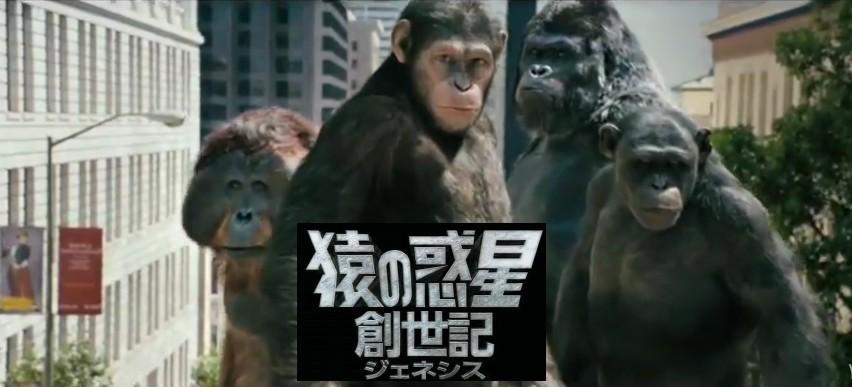 映画「猿の惑星:創世記(ジェネシス):」がフルで無料視聴できる動画配信サービス。HuluやNetflixで観れる?吹き替えはある?