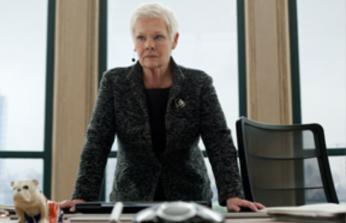 007 スカイフォールの登場人物(キャスト):M(演:ジュディ・デンチ)