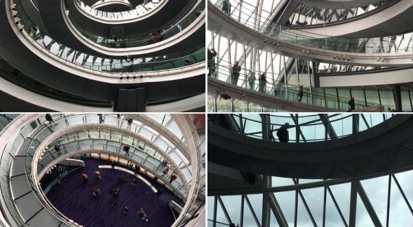 007 スペクターのロケ地(聖地):ロンドン市庁舎シティホール