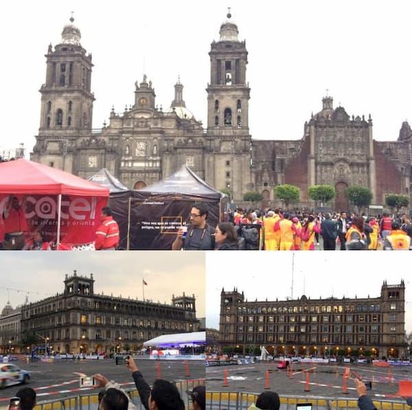 007 スペクターのロケ地(聖地):メキシコシティ・ソカロ広場