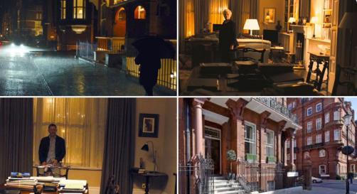 007 スカイフォールロケ地:ジョン・バリーのアパート
