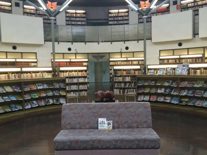 図書館戦争のロケ地(聖地):水戸市立西部図書館