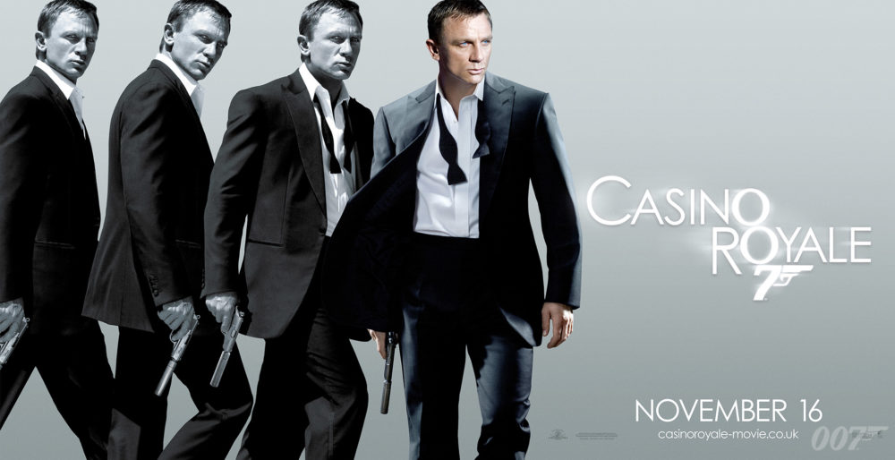 映画「007 カジノ・ロワイヤル」がフルで無料視聴できる動画配信サービス。HuluやNetflixで観れる?吹き替えはある?