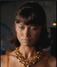 007 慰めの報酬の登場人物(キャスト):カミーユ(演:オルガ・キュリレンコ 日本語吹き替え:武田華)