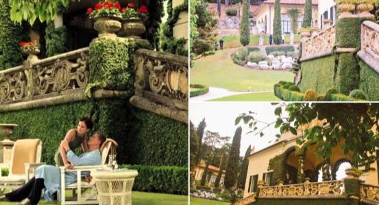 007 カジノ・ロワイヤルのロケ地:バルビアネッロ邸(Villa del balbianello)