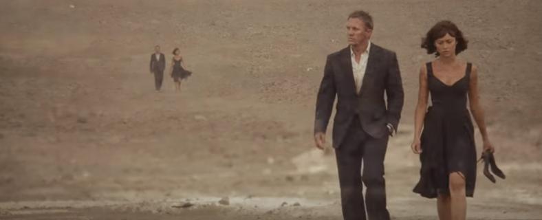 007 慰めの報酬のロケ地
