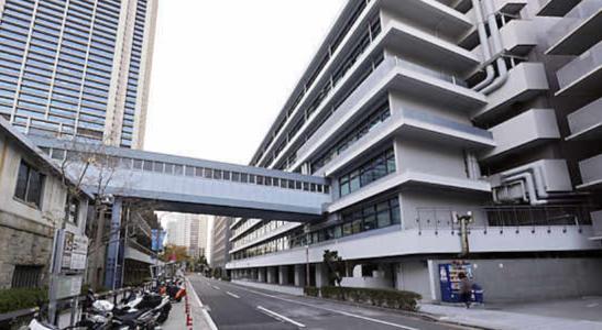 アウトレイジ1のロケ地(聖地):神戸市役所裏(神戸)