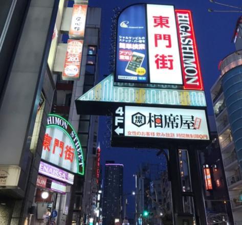 アウトレイジ1のロケ地(聖地):東門街ストリート(神戸市)