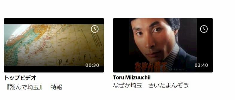 「翔んで埼玉」はDailymotion(デイリーモーション)では、特報動画の配信しかありませんでした。