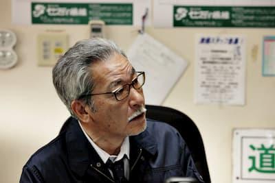 映画「ヒメアノ~ル」の登場人物:清掃会社の社長(演:大竹まこと