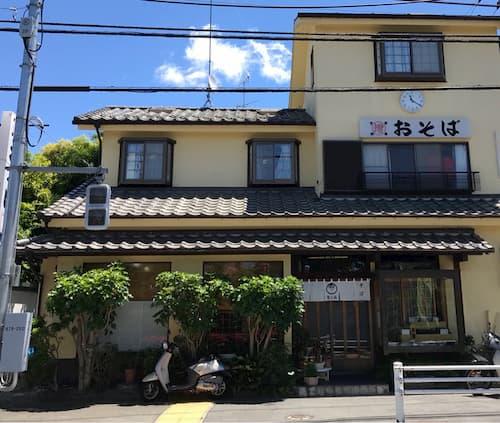 ラスト・ホールド!のロケ地(聖地):渡辺くんのバイト先のお蕎麦屋さん