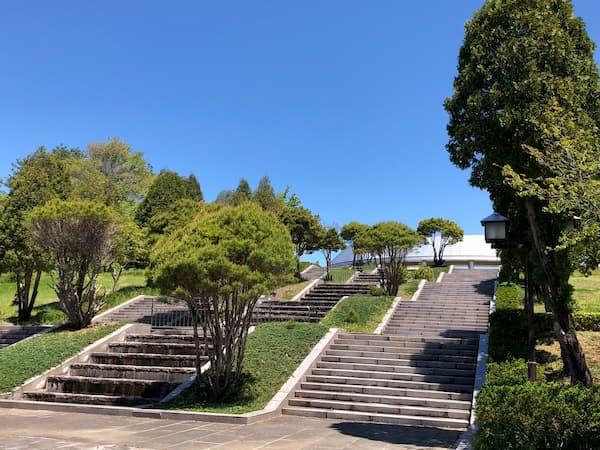 映画「ういらぶ。」のロケ地:吉備中央公園