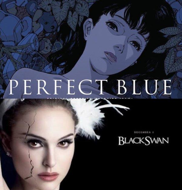 「パーフェクトブルー」のブラック・スワンとの類似点・関連性