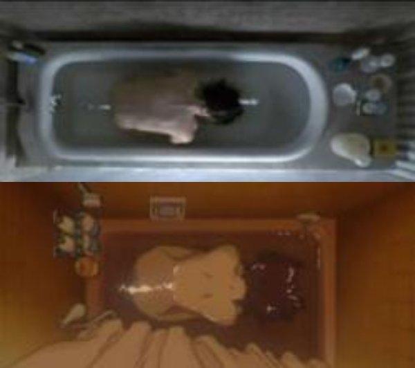映画「レクイエム・フォー・ドリーム」との類似シーン