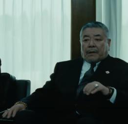 「アウトレイジ ビヨンド」の登場人物(俳優名):富田(中尾彬)