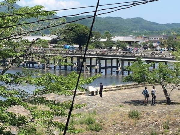 関西ジャニーズJr.の目指せ♪ドリームステージ!のロケ地(聖地):渡月橋