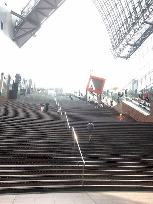 関西ジャニーズJr.の目指せ♪ドリームステージ!のロケ地(聖地):京都駅