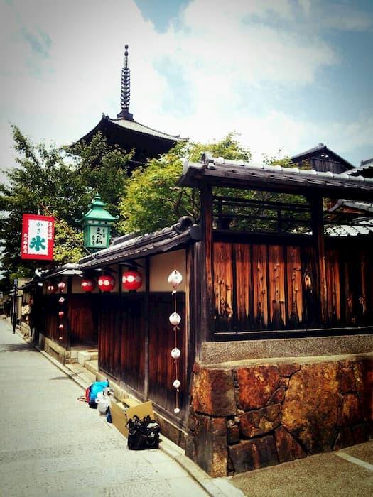 関西ジャニーズJr.の目指せ♪ドリームステージ!のロケ地(聖地):八坂の塔
