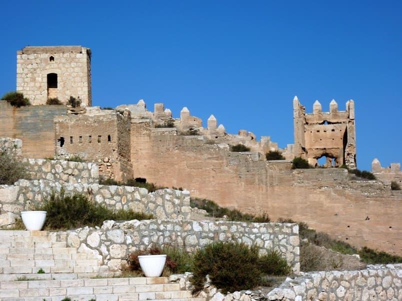 コナン・ザ・グレートのロケ地(聖地):アルカサバ城塞(スペイン)