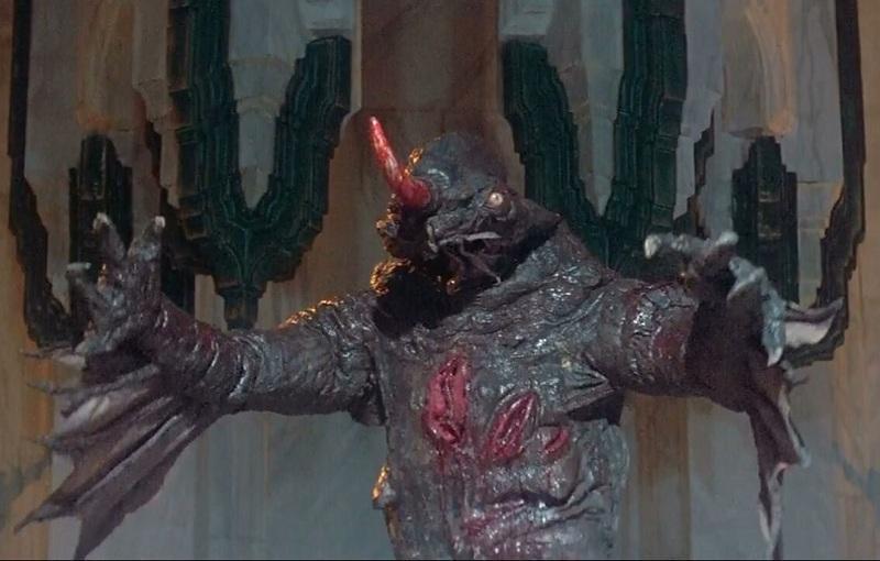 キング・オブ・デストロイヤー/コナンPART2の主要な登場人物:魔神ダゴス(アンドレ・ザ・ジャイアント
