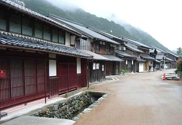 用心棒のロケ地(聖地):旧若狭街道、熊川宿家並み