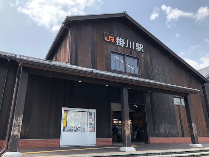 スマップ映画「シュート!」のロケ地(聖地):JR掛川駅