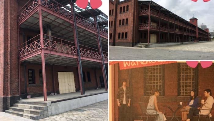 「ピーチガール」のロケ地(聖地):赤レンガ倉庫(横浜)