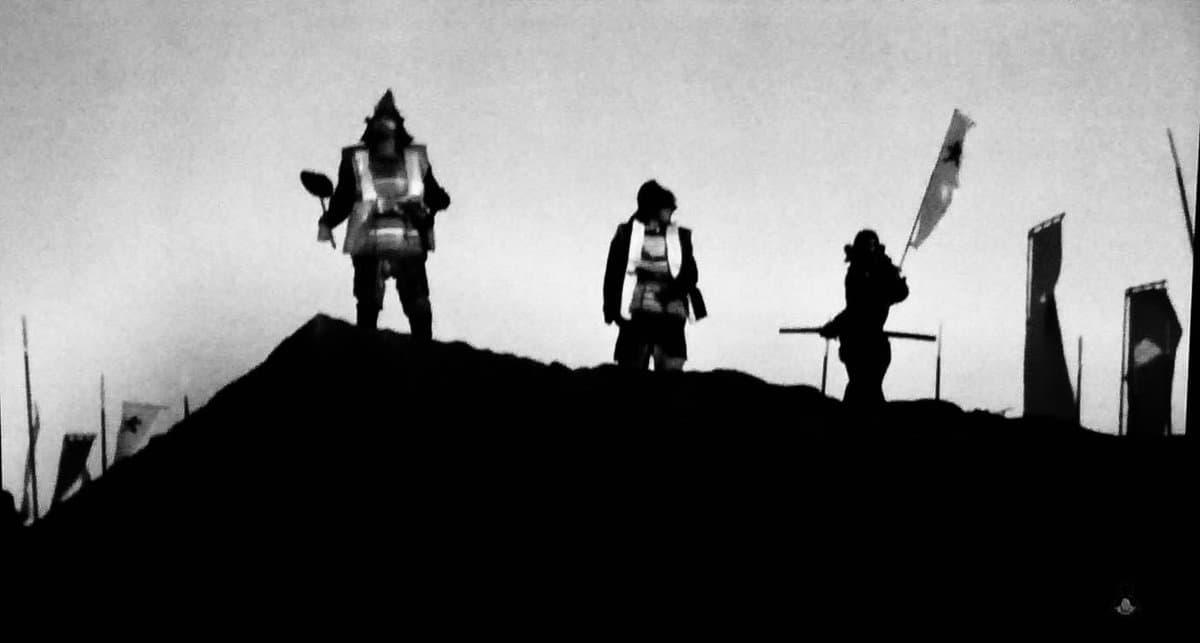 「影武者」のロケ地(聖地):熊本城の石垣