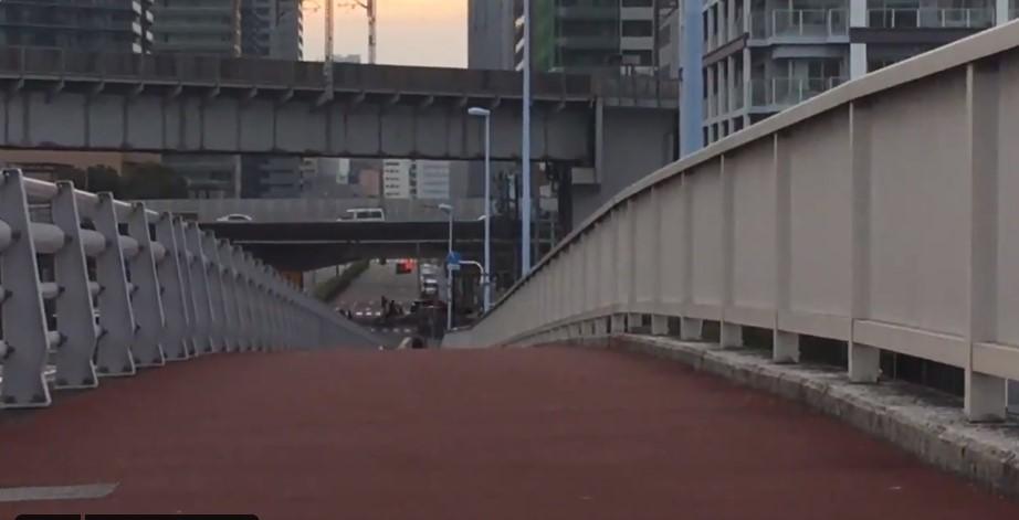 「その男、凶暴につき」のロケ地(聖地):港南大橋(品川)